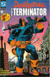 Deathstroke the Terminator (1991) -1- Full Cycle: Ch.1: Assault!