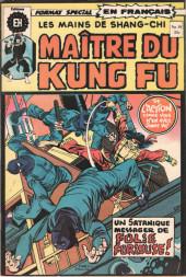 Les mains de Shang-Chi, maître du Kung-Fu (Éditions Héritage) -19- Malin messager de folie