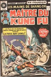 Les mains de Shang-Chi, maître du Kung-Fu (Éditions Héritage) -16- Un golfe de lions
