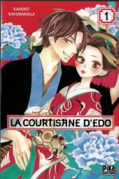 La courtisane d'Edo -1- Tome 1