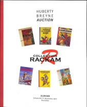 (Catalogues) Ventes aux enchères - Divers - Huberty Breyne gallery - Bandes dessinées - Dimanche 17 décembre 2017 - Collection Rackam - Bruxelles