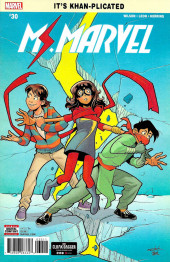 Ms. Marvel (2016) -30- Something New Pat 2