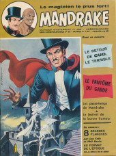 Mandrake (1re Série - Remparts) (Mondes Mystérieux - 1) -389- le retour de CUD le terrible