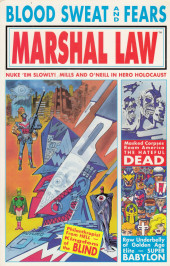 Marshal Law: Super Babylon (1992) -INT- Marshal Law: Blood, sweat and fears
