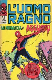 L'uomo Ragno V1 (Editoriale Corno - 1970)  -18- La Minaccia in Agguato
