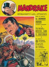 Mandrake (1re Série - Remparts) (Mondes Mystérieux - 1) -363- Mystère dans le souterrain