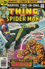 Marvel Two-In-One (1974) -17- This City-- Afire!