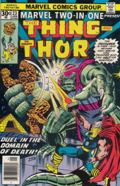 Marvel Two-In-One (1974) -23- Death on the Bridge to Heaven!