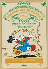 Les grandes aventures Disney de Romano Scarpa -3- Picsou et le sage de Ulah-Ulah et autres histoires (1957-1959)