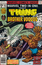 Marvel Two-In-One (1974) -41- Voodoo and Valor!