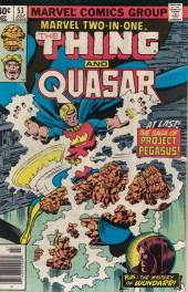 Marvel Two-In-One (1974) -53- The Pegasus Project Part One The Inner War!