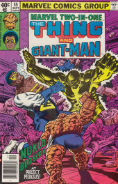 Marvel Two-In-One (1974) -55- The Pegasus Project Part Three Giants in the Earth