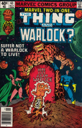 Marvel Two-In-One (1974) -63- Suffer Not a Warlock to Live!