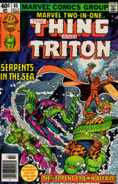 Marvel Two-In-One (1974) -65- The Serpent Crown Affair! Part Two Serpents from the Sea