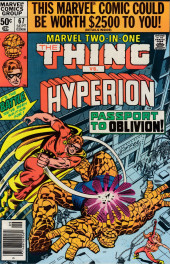 Marvel Two-In-One (1974) -67- Passport to Oblivion!