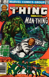 Marvel Two-In-One (1974) -77- Only the Swamp Survives!