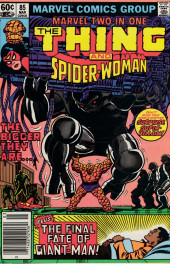 Marvel Two-In-One (1974) -85- The Final Fate of Giant-Man!