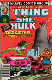 Marvel Two-In-One (1974) -88- Disaster at Diablo Reactor