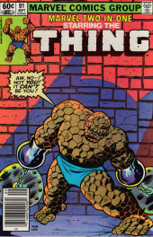 Marvel Two-In-One (1974) -91- In the Shadow of the Sphinx