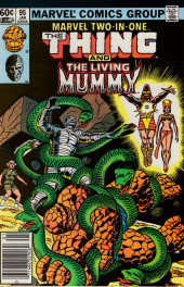 Marvel Two-In-One (1974) -95- The Power To Live... The Power To Die
