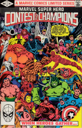 Marvel Super-Hero Contest of Champions (1982) -1- A Gathering of Heroes