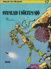 Spirou et Fantasio (en langues étrangères) -17Islandais- Svamlad í söltum sjó