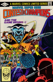 Marvel Super-Hero Contest of Champions (1982) -2- Chapter 2 First Contest: Frenzy In the Frozen North! Chapter 3 Second Contest: Ghost Town Showdown!