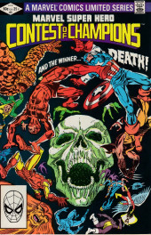 Marvel Super-Hero Contest of Champions (1982) -3- Chapter 4 Third Contest: Siege In the City of the Dead! Chapter 5 Fourth Contest: Struggle in the Jungle! Chapter 6 Winner Takes None!