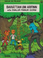 Spirou et Fantasio (en langues étrangères) -9Islandais- Baráttan um arfinn
