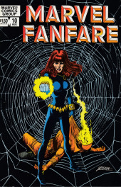 Couverture de Marvel Fanfare Vol. 1 (Marvel - 1982) -10- Marvel Fanfare #10