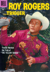 Roy Rogers and Trigger (Dell - 1955) -116- The Yellow Raider