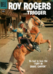 Roy Rogers and Trigger (Dell - 1955) -118- Fury in Snake Canyon