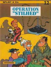 Spirou et Fantasio (en danois) (Splint & Co.) -12a78- Operation Stilhed