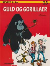 Spirou et Fantasio (en danois) (Splint & Co.) -13a83- Guld og gorillaer