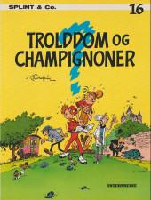 Spirou et Fantasio (en danois) (Splint & Co.) -16a83- Trolddom og champignoner