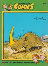 Spirou et Fantasio (en danois) (Splint & Co.) -8c88- Næsehornets hemmelighed