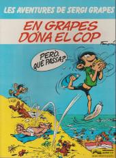 Gaston (en langues régionales) -3Catalan- En grapes dóna el cop
