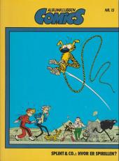 Spirou et Fantasio (en danois) (Splint & Co.) -21c90- Hvor er spirillen ?