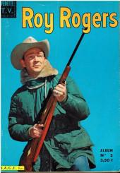Roy Rogers, le roi des cow-boys (3e série - vedettes T.V) -REC03- Album N°3 (N°11 à N°15)