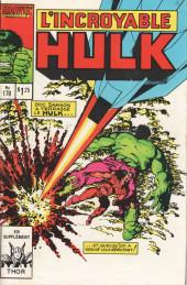 L'incroyable Hulk (Éditions Héritage) -178- Batptême de feu