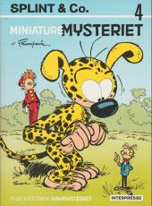 Spirou et Fantasio (en danois) (Splint & Co.) -4b90- Miniature mysteriet