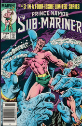 Couverture de Prince Namor, the sub-mariner (1984) -3- The Twain Shall Meet!