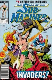 Saga of the sub-mariner (the) (1988) -5- Invaders
