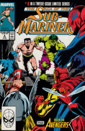 Saga of the sub-mariner (the) (1988) -8- Avengers