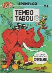 Spirou et Fantasio (en danois) (Splint & Co.) -SPa07- Tembo tabou