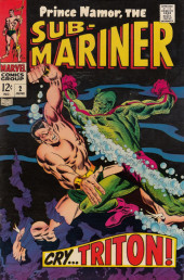 Sub-Mariner Vol.1 (Marvel - 1968) -2- Cry Triton
