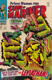 Sub-Mariner Vol.1 (Marvel - 1968) -3- On a Clear Day You Can See... the Leviathan!