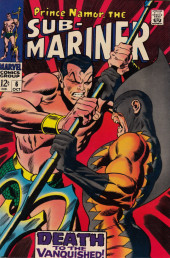 Sub-Mariner Vol.1 (Marvel - 1968) -6- And to the Vanquished, Death