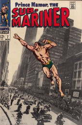 Sub-Mariner Vol.1 (Marvel - 1968) -7- For President: The Man Called Destiny