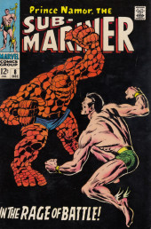 Sub-Mariner Vol.1 (Marvel - 1968) -8- In the Rage of Battle!